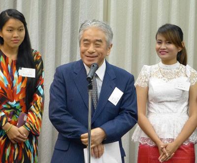 挨拶:日本アセアンセンター藤田事務総長