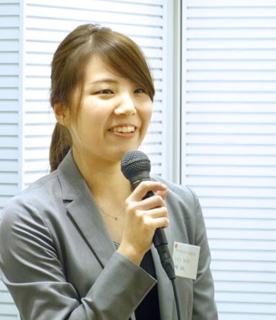 挨拶:アイセック・ジャパン 事務局 伊藤成良氏