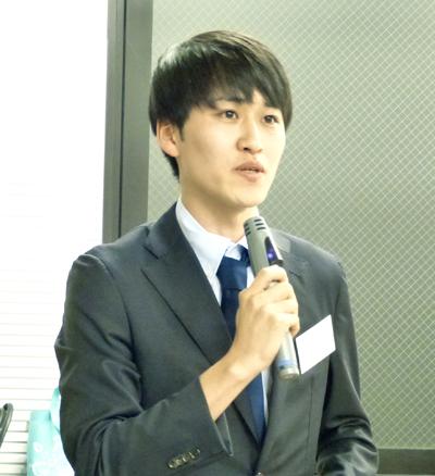 挨拶:アイセック・ジャパン 専務理事 福村圭祐氏